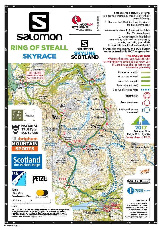 en soldes d7da3 0646e News - Mon 8th Jan 2018 - Salomon Skyline Scotland™ Recce ...