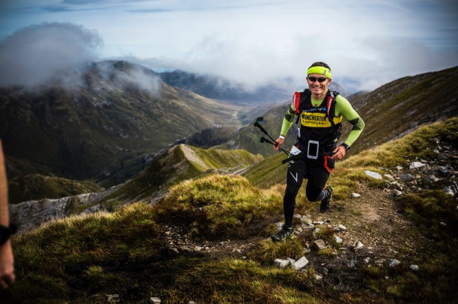 The Salomon Ring of Steall Skyrace 2016 - a race worth smiling about ©Jordi Saragossa