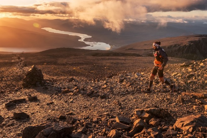 Ben Nevis Ultra 2017 - descending The Ben
