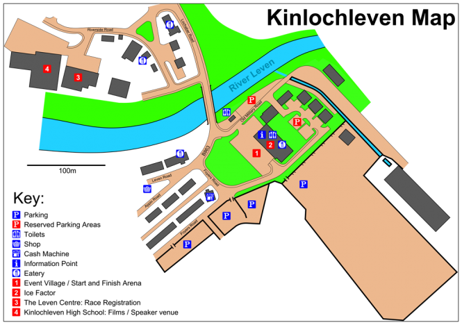 Kinlochleven Overview Map