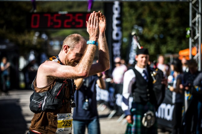 Salomon Ben Nevis Ultra - First Male - Murray Strain - Finish Line 3 - Copyright No Limits Photography