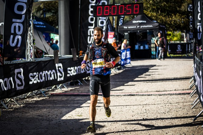 Salomon Ben Nevis Ultra - Second Male - Francisco Javier Cabrera Valdes - Finish Line 1 - Copyright No Limits Photography
