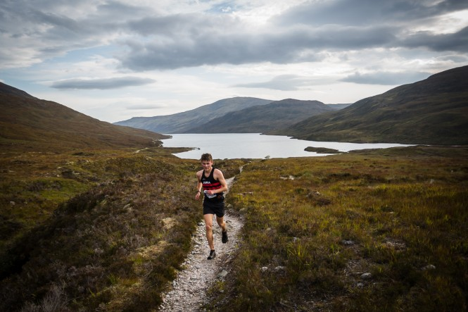 Loch Eilde Mur Trail Race - Winner - Louis MacMillan - Copyright No Limits Photography