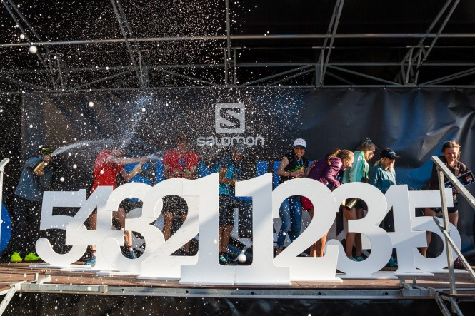 Salomon Ring of Steall Skyrace - Prize Ceremony 2019
