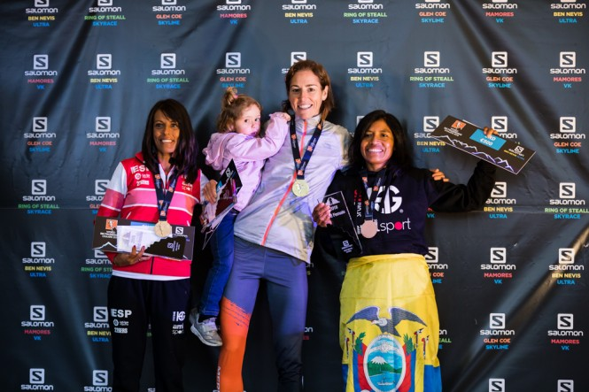 The Netherlands, Spain, and Ecuador on the women's podium for the Ben Nevis Ultra