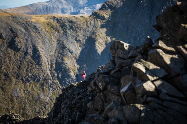 Salomon Ben Nevis Ultra - Unknown Runner 1 - Carn Mor Dearg Arete - Copyright No Limits Photography