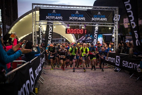 Salomon Glen Coe Skyline - Start Line - Copyright No Limits Photography