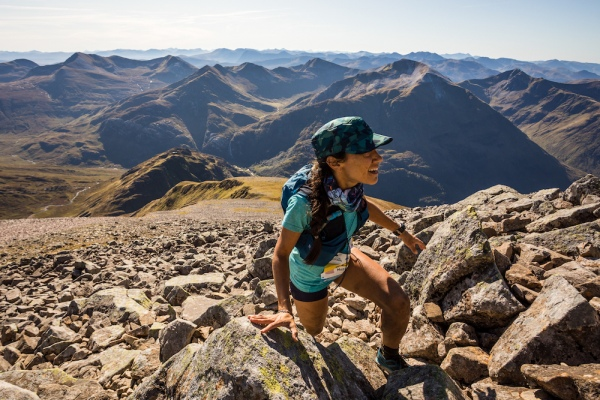 Salomon Ben Nevis Ultra - Second Female - Megan Arauzo - Carn Mor Dearg Arete - Copyright No Limits Photography