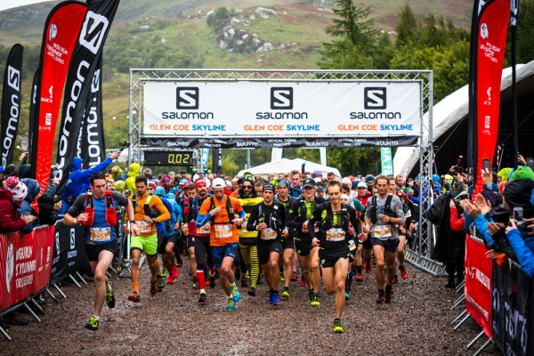 Glen Coe Skyline - Race Start