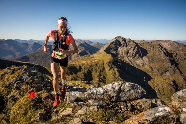 Salomon Ring of Steall - First Female - Judith Wyder - Devils Ridge - Copyright No Limits Photography