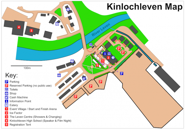 Kinlochleven Event Village Map