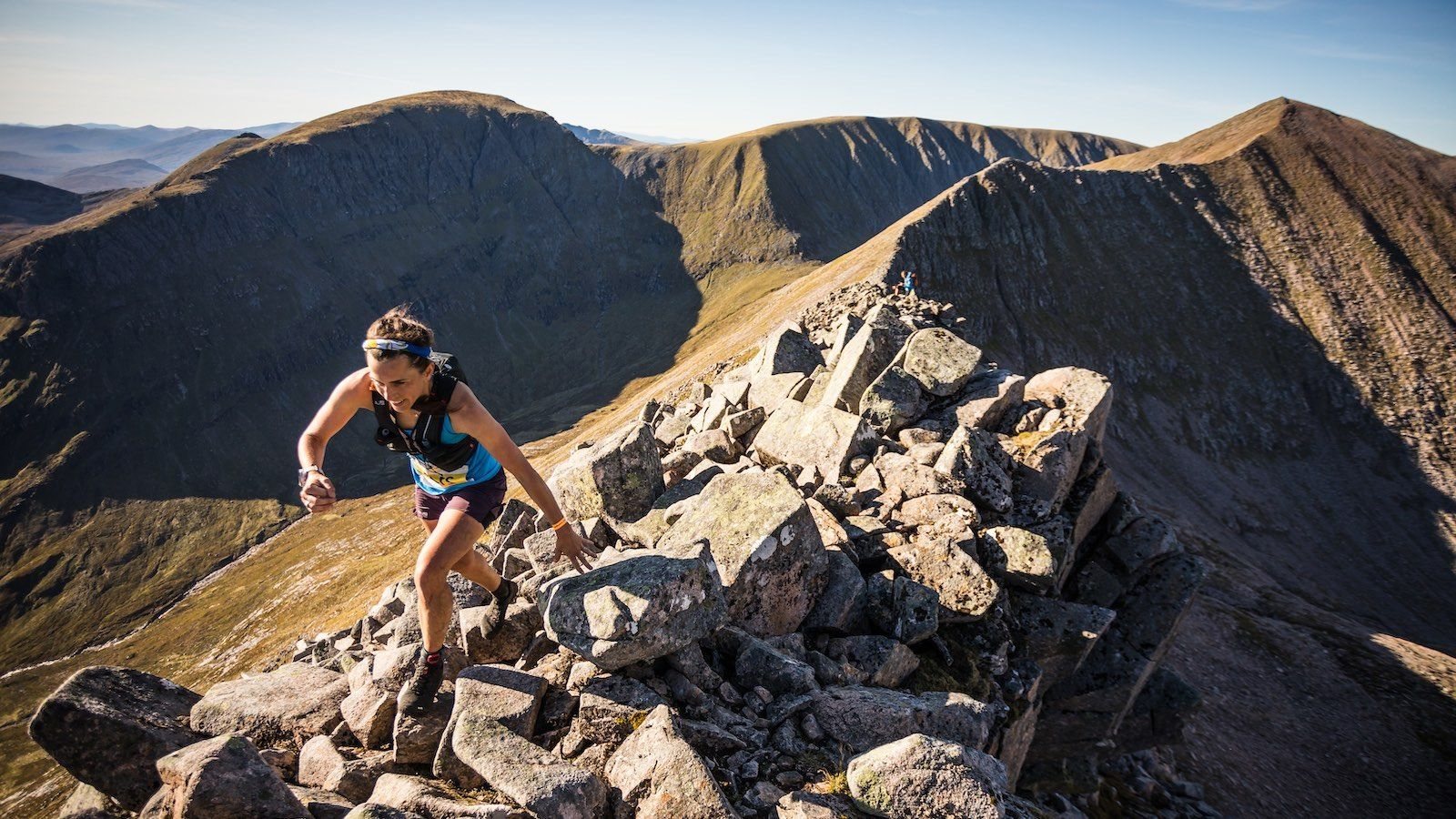 Salomon Ben Nevis Ultra - First Female - Katie Kaars Sijpesteijn - Carn Mor Dearg Arete - Copyright No Limits Photography web