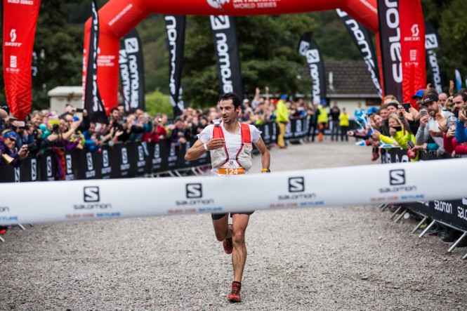 Kilian Jornet Salomon Glen Coe Skyline 2017 Finish Line