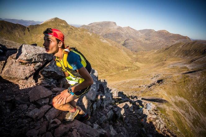 Salomon Ring of Steall - First Male - Nadir Maguet - Stob Coire a Chairn - Copyright No Limits Photography