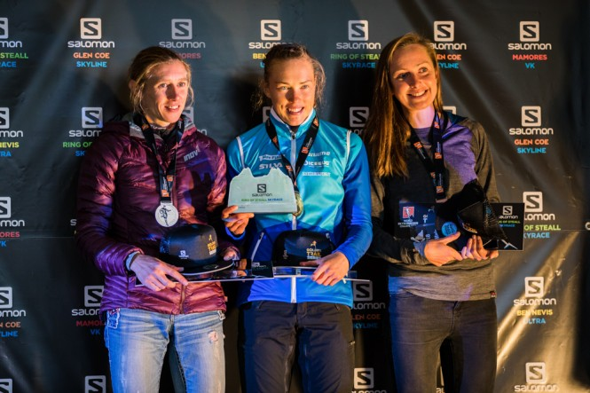 Top 3 Female Podium