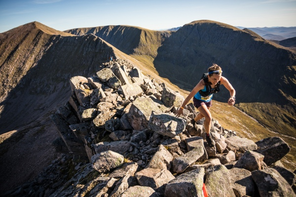 Salomon Ben Nevis Ultra - First Female - Katie Kaars Sijpesteijn - Carn Mor Dearg Arete - Copyright No Limits Photography