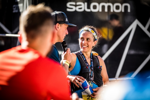 Salomon Ben Nevis Ultra - First Female - Katie Kaars Sijpesteijn - Finish Line 2 - Copyright No Limits Photography